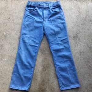 Vintage Wrangler light Blue wash Jeans USA made